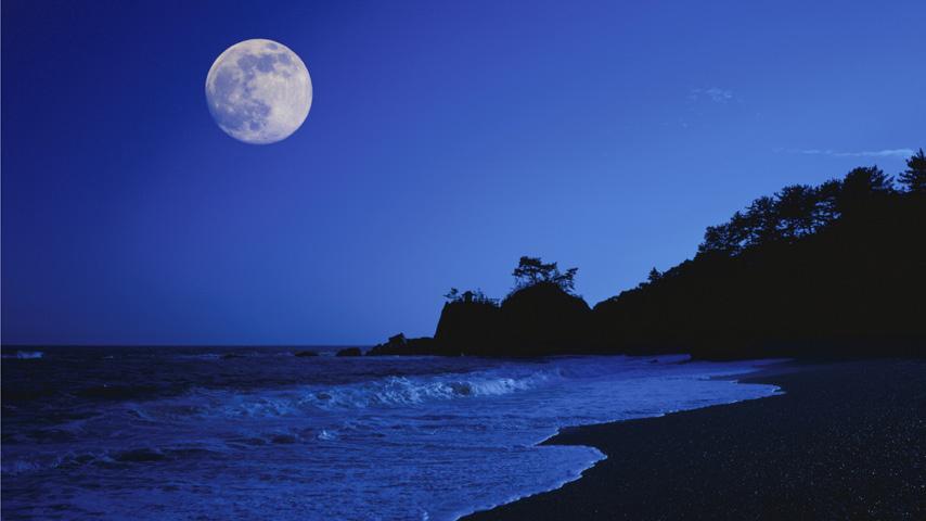 La Luna y las mareas vivas