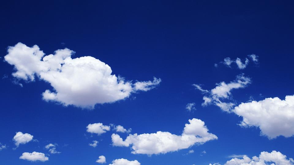 ¿Por qué es azul el cielo?