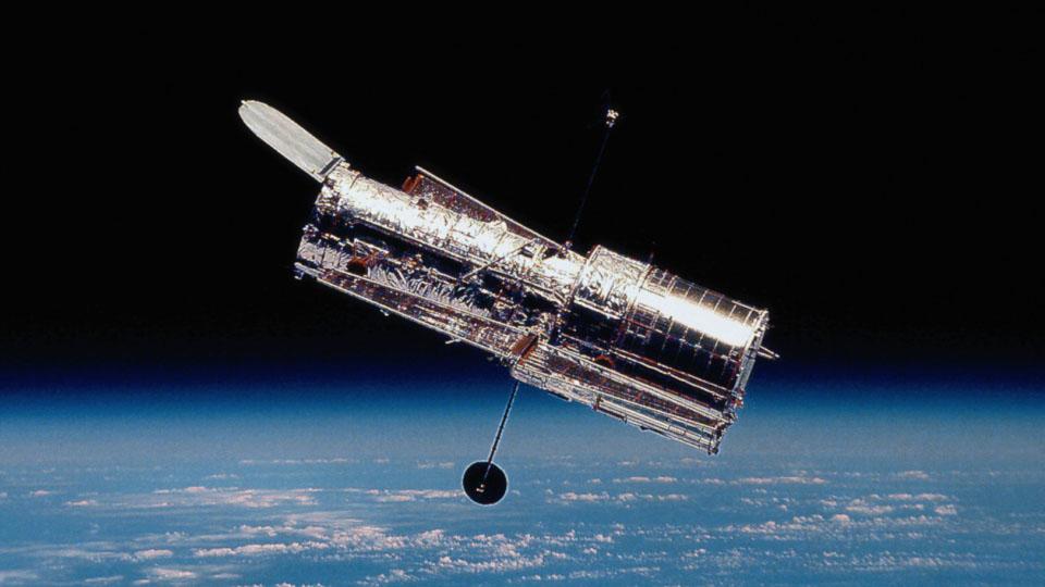 El telescopio espacial Hubble