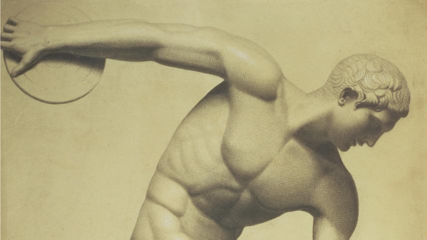 Un atleta de la antigua Olimpia