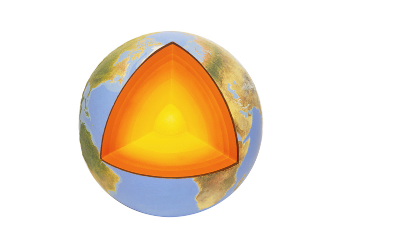 Temperatura del núcleo de la Tierra