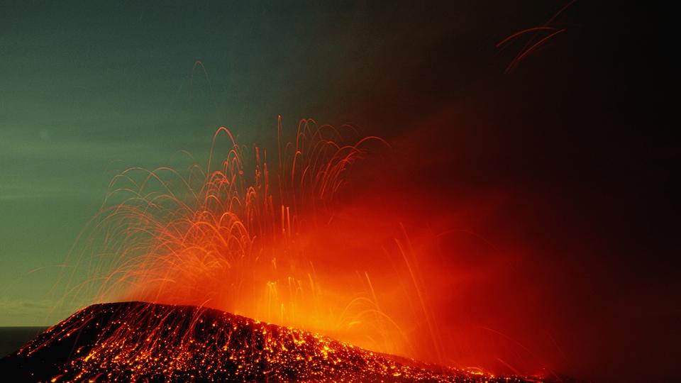 Predicción de erupciones
