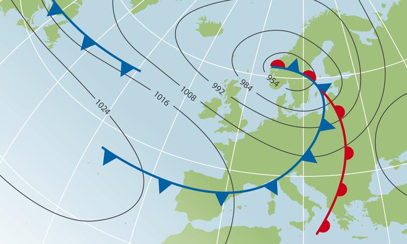 Los sistemas meteorológicos