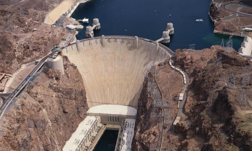 La construcción de la presa Hoover