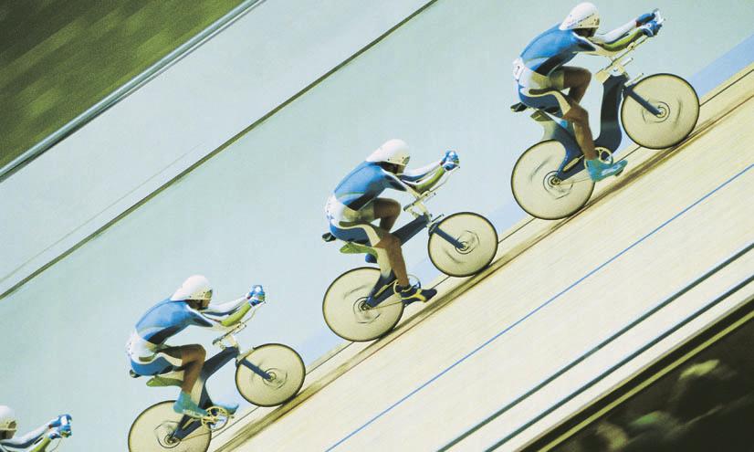La aerodinámica en el ciclismo