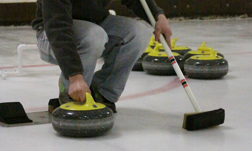 La fricción en el curling