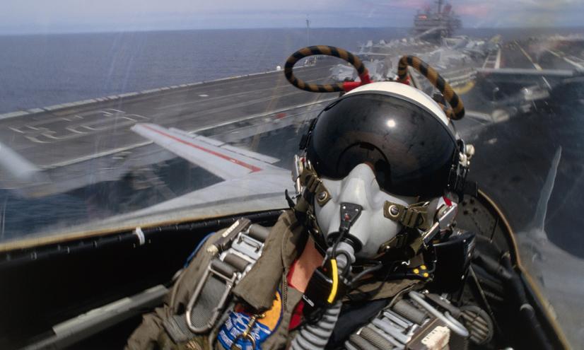 Los pilotos de combate: la fuerza G