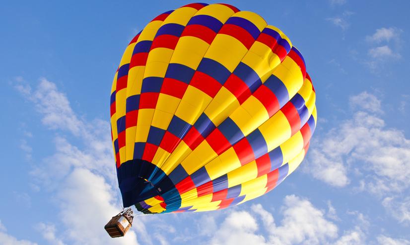 Los globos aerostáticos.